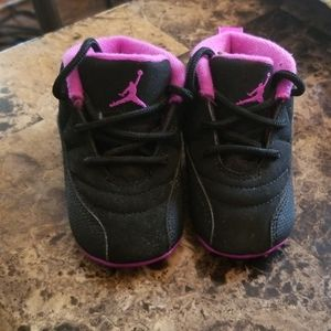 Infant Jordan tennis shoes